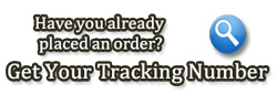 Get your Tracking Number