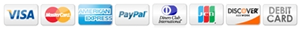 Online checkout using Credit Cards, PayPal