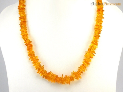 Genuine Baltic Amber Necklace Honey Nuggets 46 Cm 18 Inches