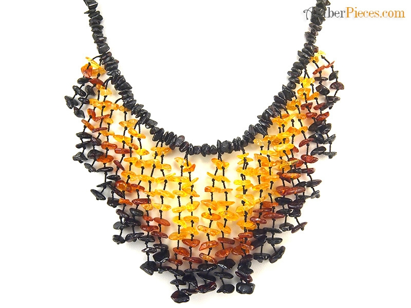 genuine baltic amber necklace semi choker mixed colors nuggets 47 cm 18 inches. Black Bedroom Furniture Sets. Home Design Ideas