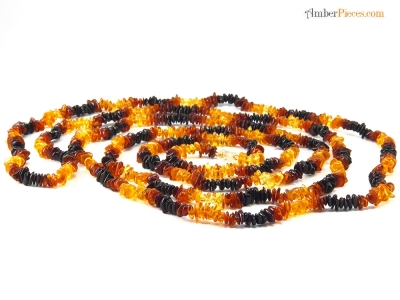 fine baltic amber necklace long multi color nuggets 200 cm 79 inches. Black Bedroom Furniture Sets. Home Design Ideas